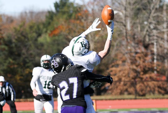 East Brunswick at Old Bridge football on Thanksgiving Day for the Battle of Route 18 on Thursday, Nov. 22, 2018.