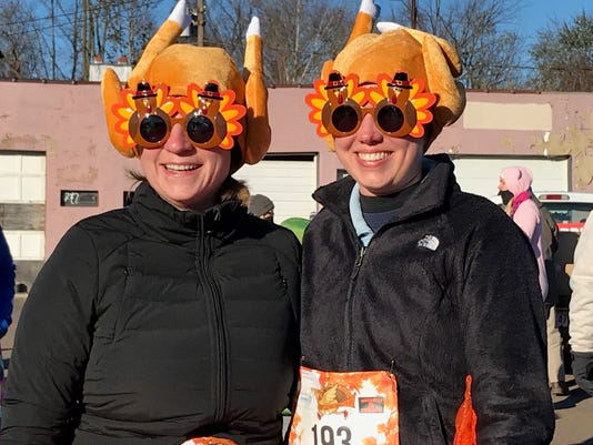 Somerville Turkey Trot Kelsey Speal And Diana Farmen