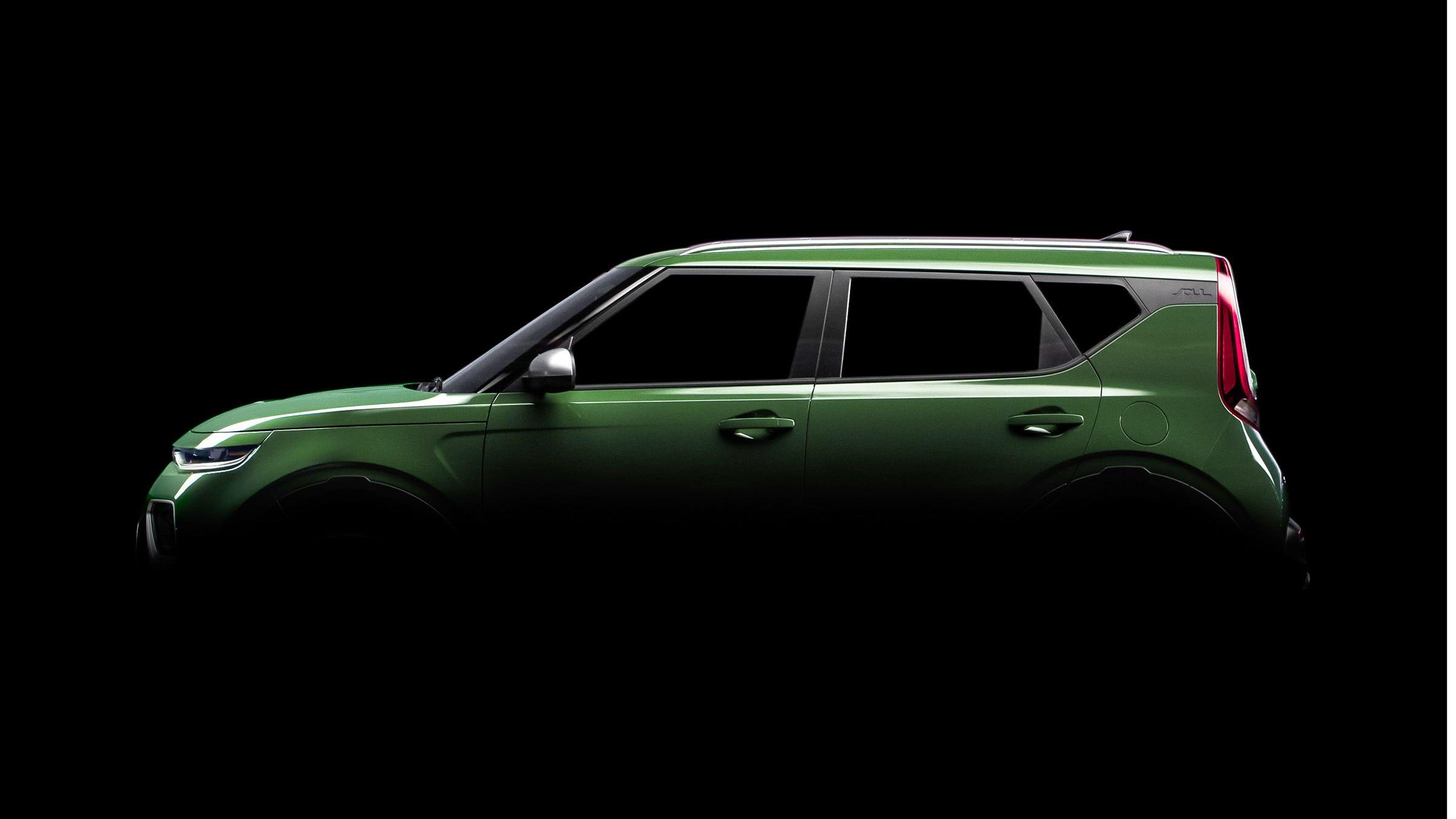Jeep Pickup Honda Lincoln Suvs Kia Soul At La Auto Show