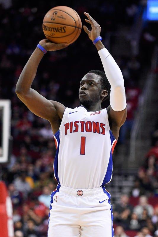 Ap Pistons Rockets Basketbal