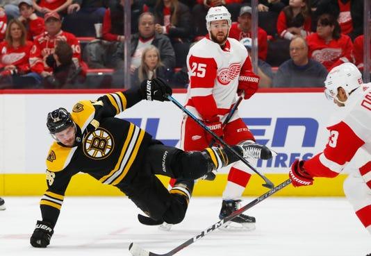 Ap Bruins Red Wings Hockey M 2