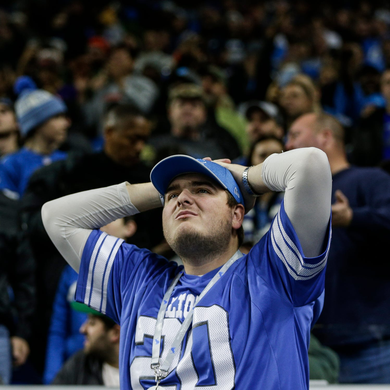 It took 13 seasons, but the Detroit Lions have worn me down