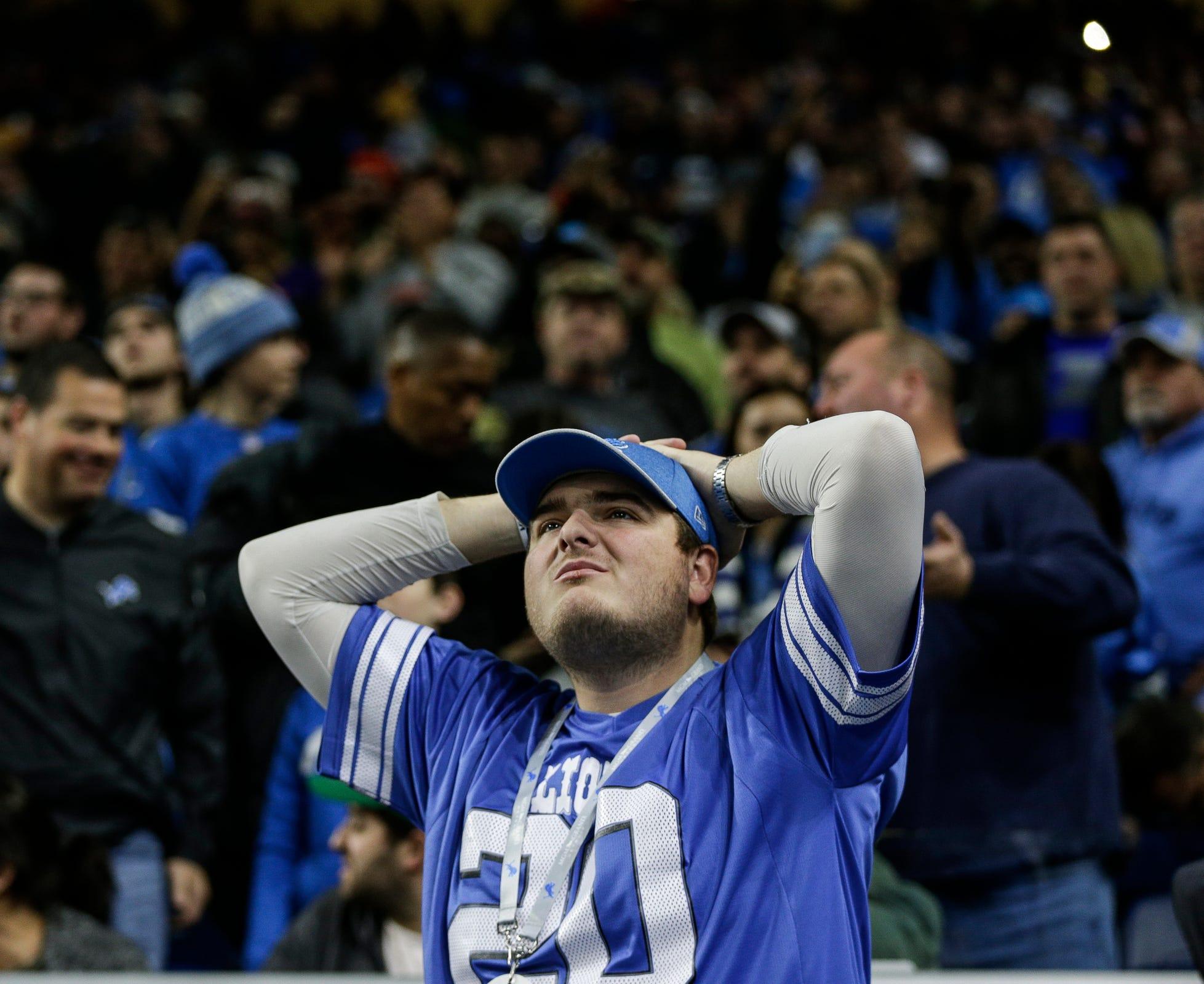 Lions fans, Sad Detroit Lions