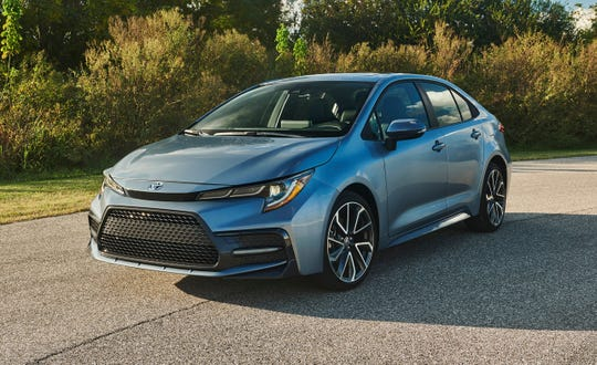 The 2020 Toyota Corolla will debut at the Los Angeles auto show. A hybrid version is expected to join the model line.