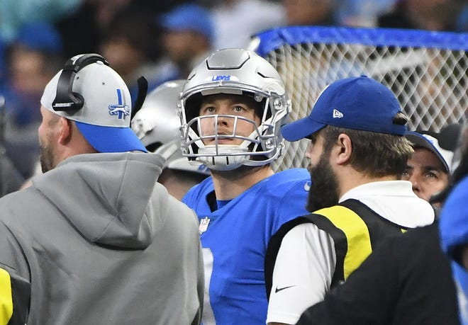Matt Stafford and the Lions offense is in a serious slump.