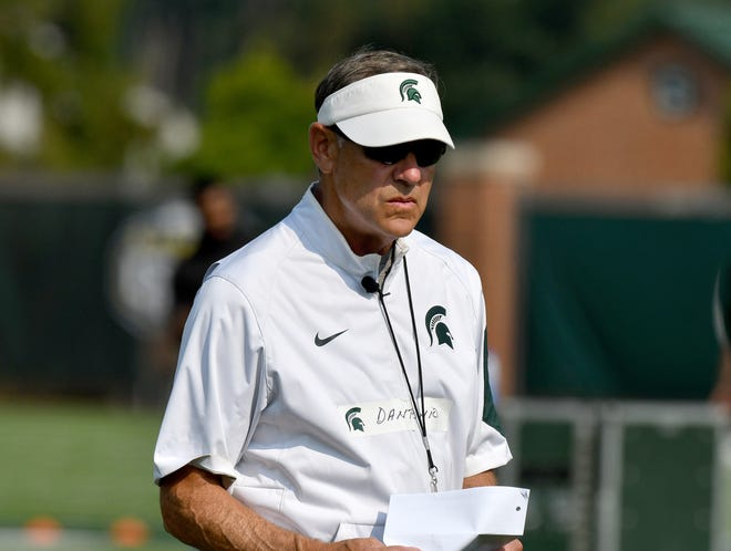 How Mark Dantonio has felt about social media in the past hasn't come up much, but it's been an issue this season as junior quarterback Brian Lewerke has struggled and dealt with injury while fans have been clamoring for redshirt freshman Rocky Lombardi to see more playing time.