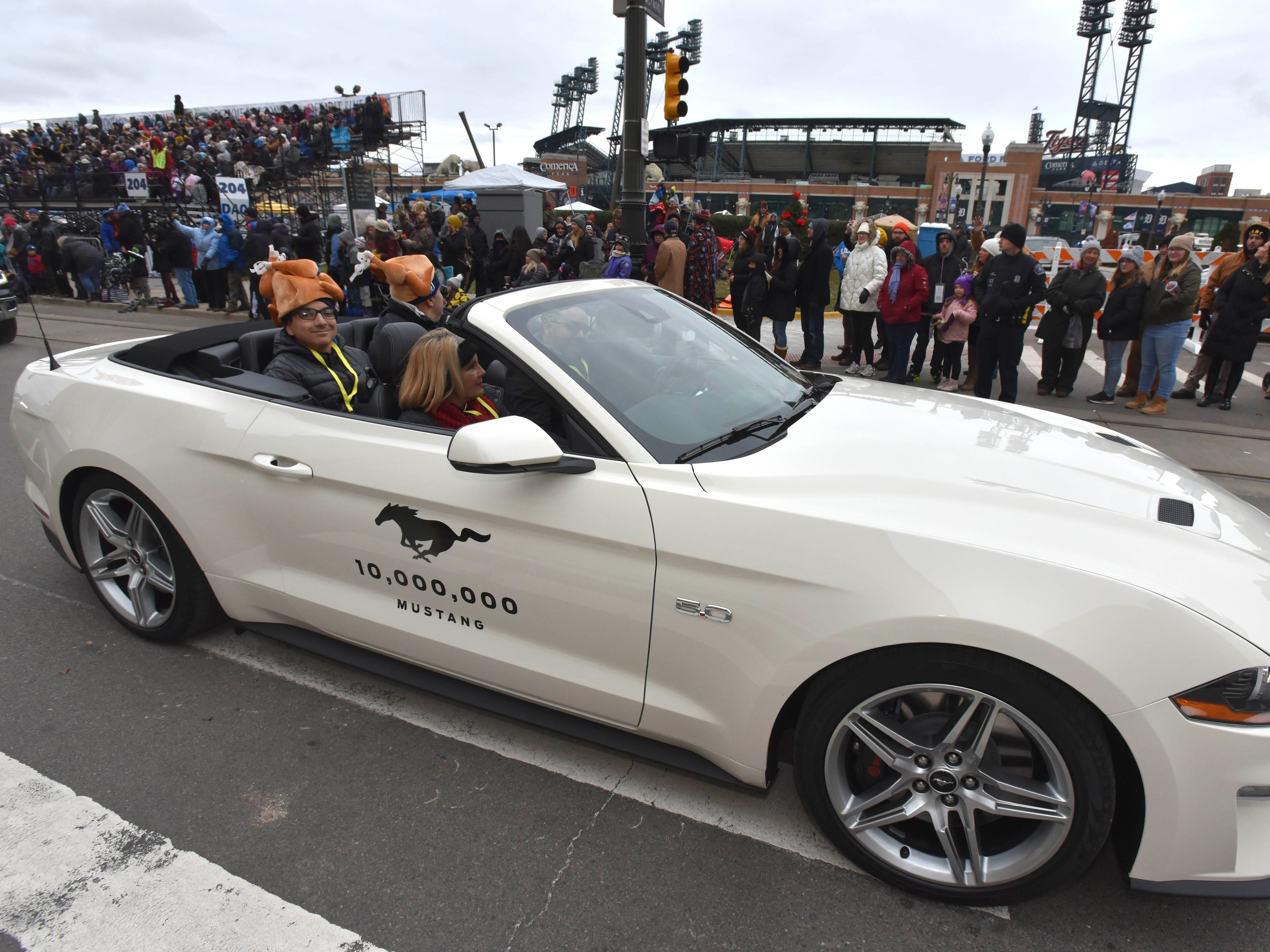 This is the 10 millionth Ford Mustang.