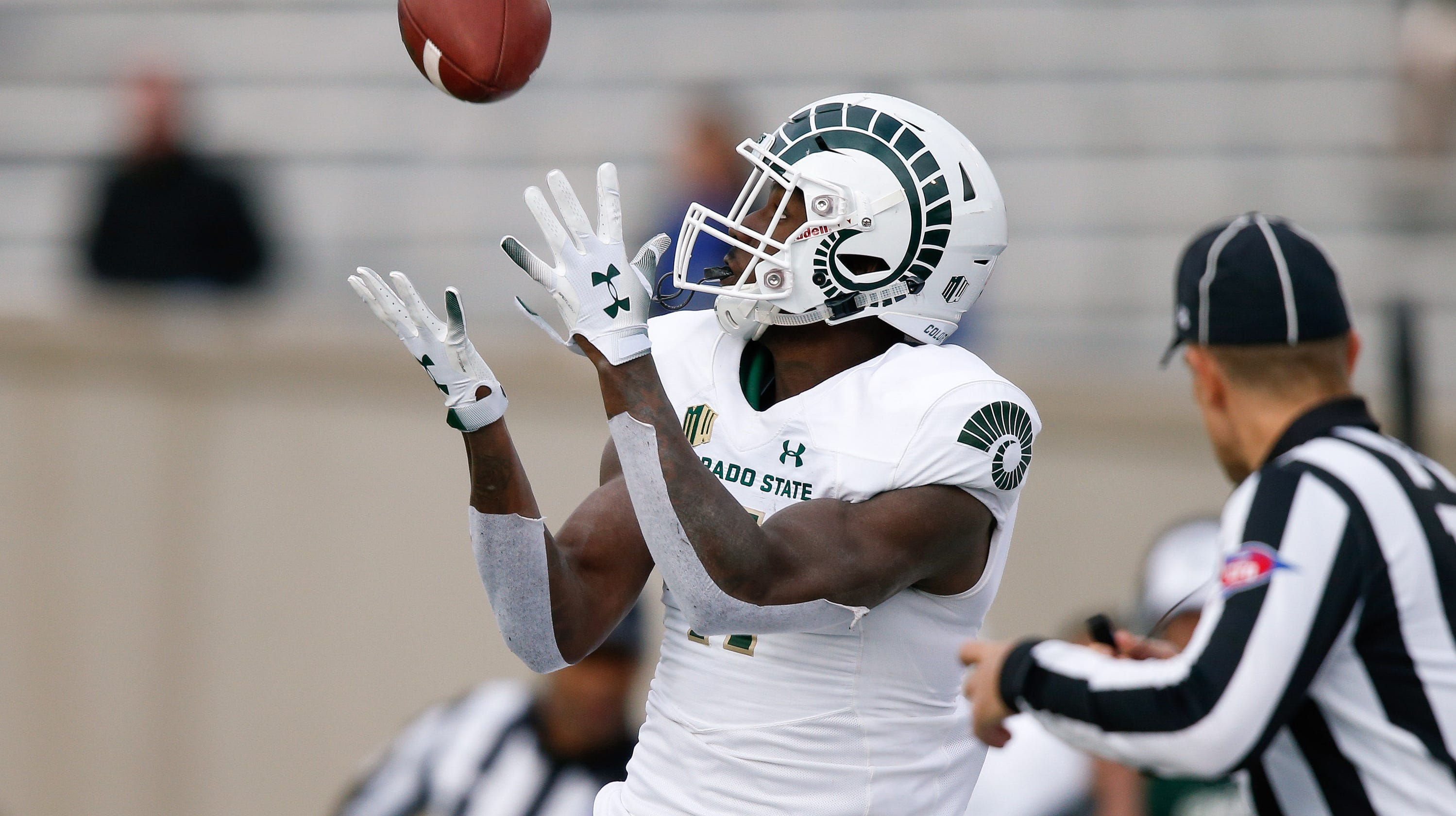 b9c01122ebe Air Force looked outstanding, but we cannot neglect to mention Colorado  State in all-white with ...