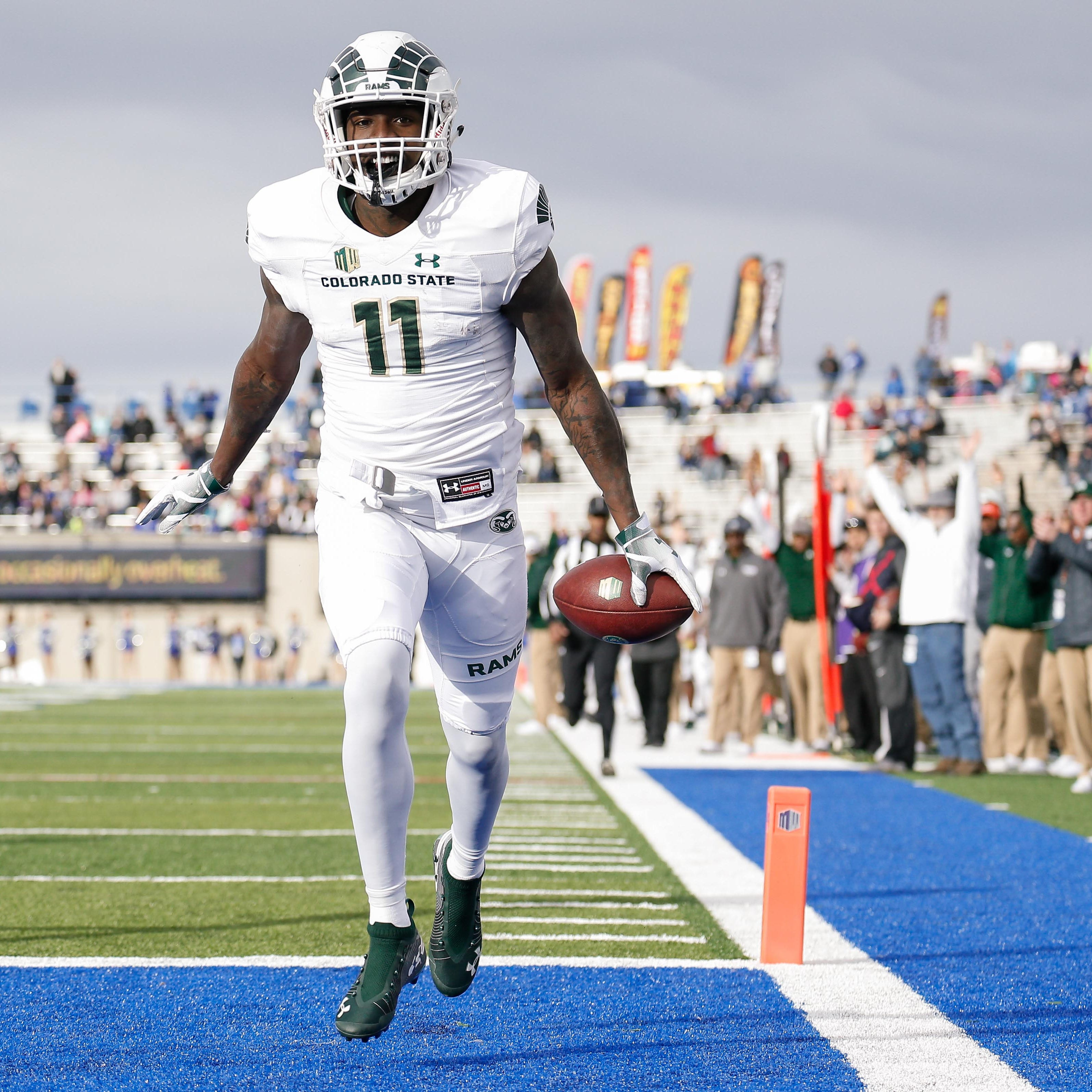 CSU football's top NFL draft prospects are receivers Preston Williams and Bisi Johnson