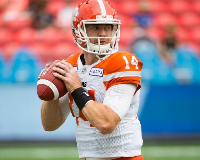 In 10 seasons with the B.C. Lions, Travis Lulay has passed for 21,352 yards and 127 touchdowns. He's also rushed for 2,148 yards and 24 TDs in his CFL career.