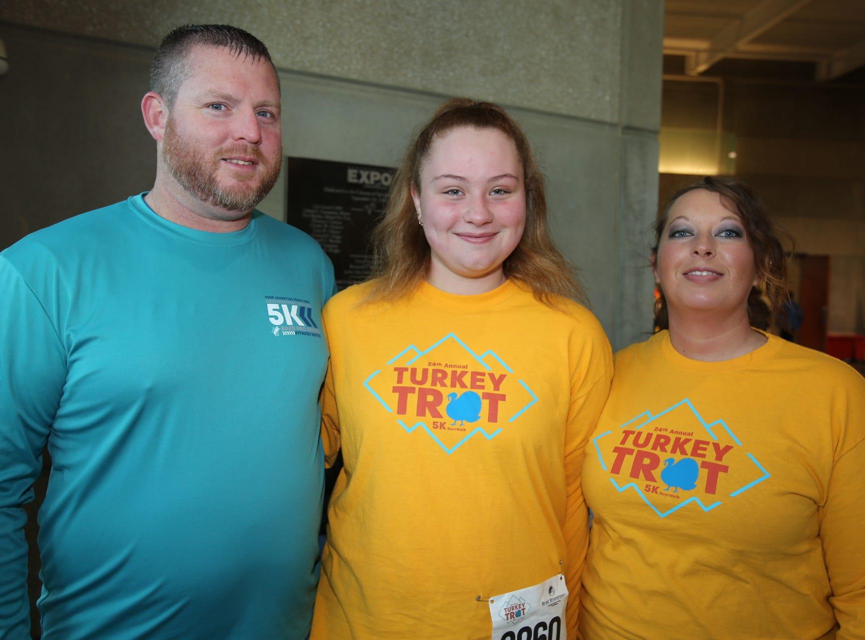 Brad, Aubrey, and Jahnae