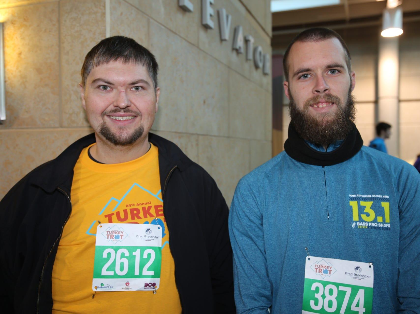 Dustin Kessler and Brandon Hammond