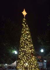 Downtown Lafayette presents The Christmas Tree Extravaganza as part of the month's holiday events.