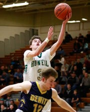 Howell's Kip French averaged 7.4 points and had a team-high 28 3-pointers last season.