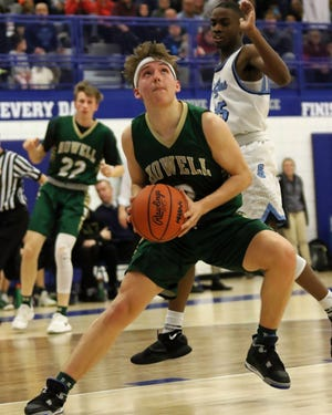 Howell's Josh Palo was Livingston County's Player of the Year last season.