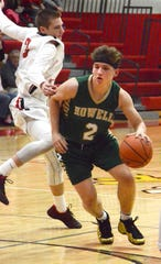 Howell's Josh Palo (2) was the leading scorer in Livingston County last season.