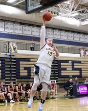 Hartland's Evan Metz missed football season with an injury, but is healthy for the start of his third varsity basketball season.