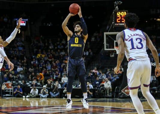 Ncaa Basketball Nit Season Tip Off Marquette At Kansas