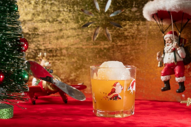 The Snowball Old Fashioned, made with butterscotch rye, is one of the Christmasy cocktails served during the pop-up bar Miracle on 2nd St., Nov. 23 to Dec. 24 at the Tin Widow, 703 S. Second St.