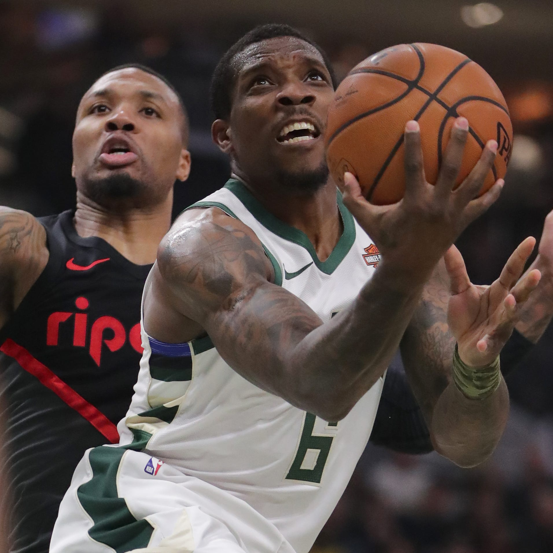 Bucks 143, Trail Blazers 100: Starters get their rest after a thorough stuffing