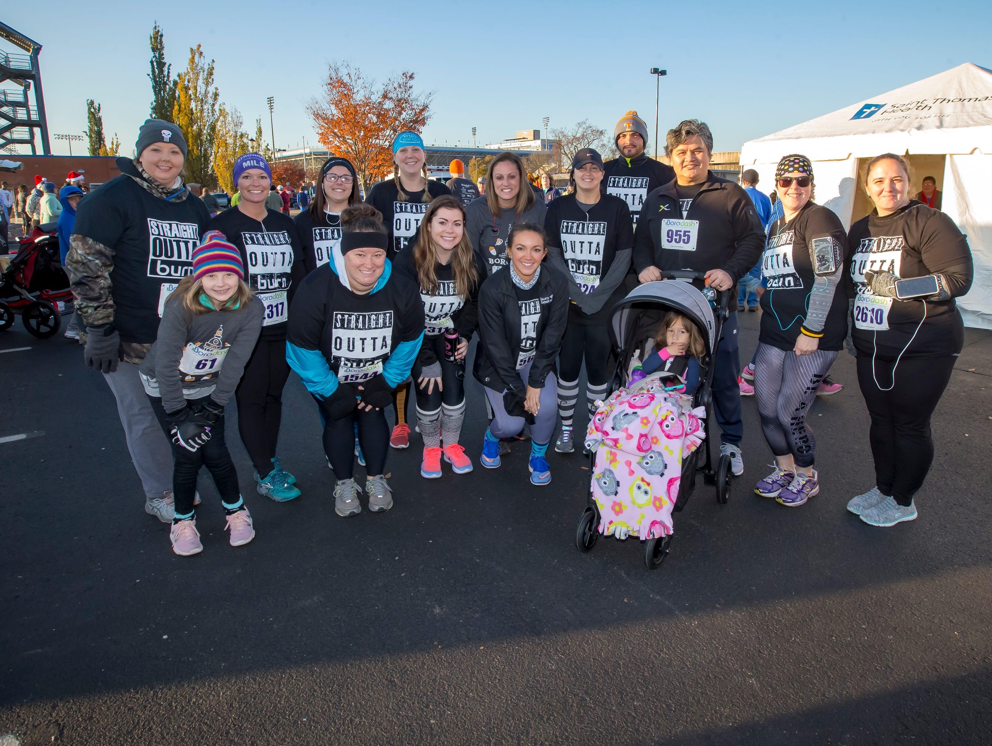 The Thanksgiving Day Borodash.  A 4-mile walk/run through historic Murfreesboro.Jim Davis/for the DNJ