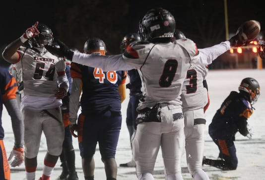 John F Kennedy Paterson Vs Eastside High School Football