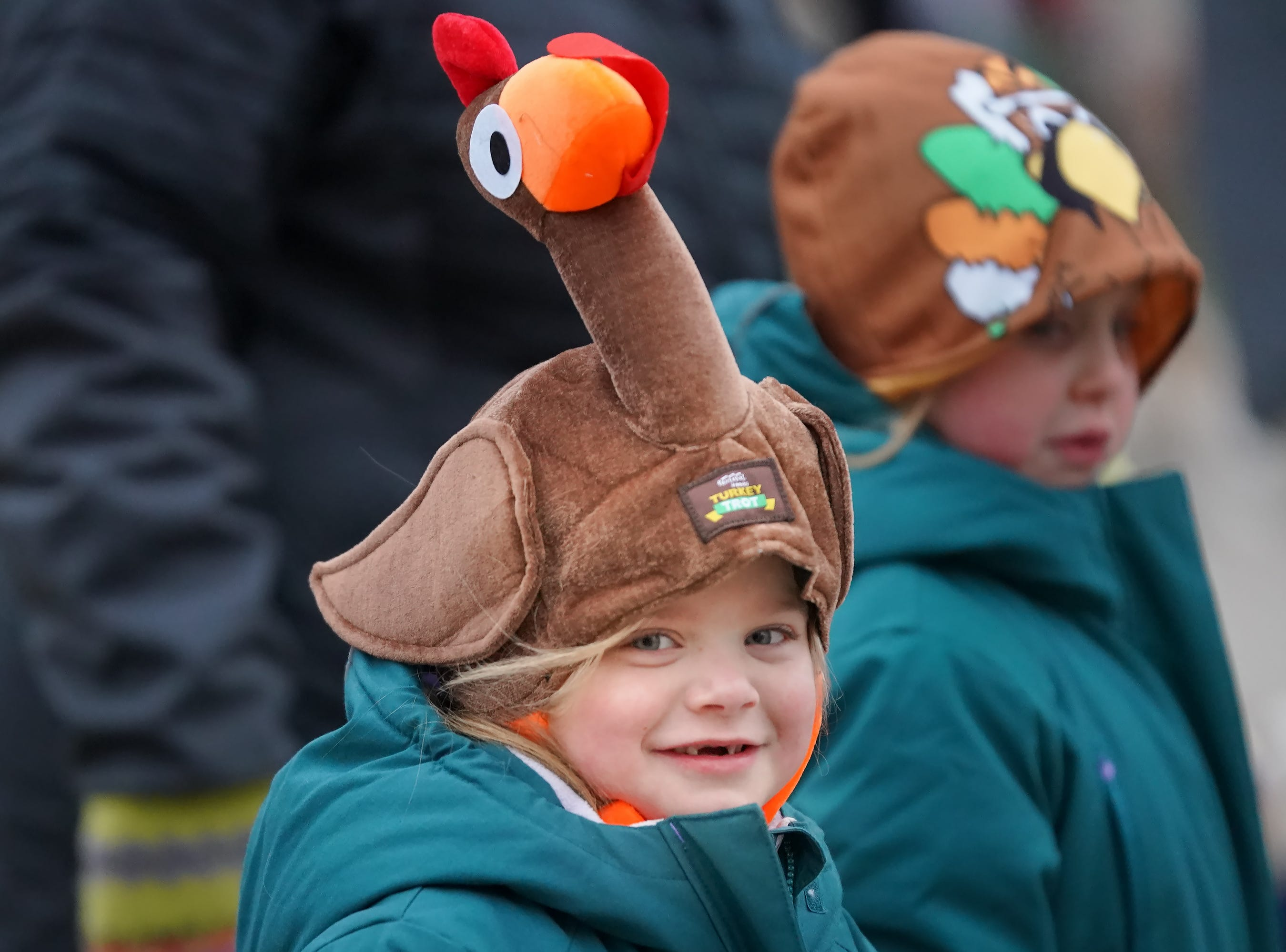 The 11th Annual Festival Foods Turkey Trot was held Thursday morning, November 22, 2018 at the Menominee   Nation Arena in Oshkosh.