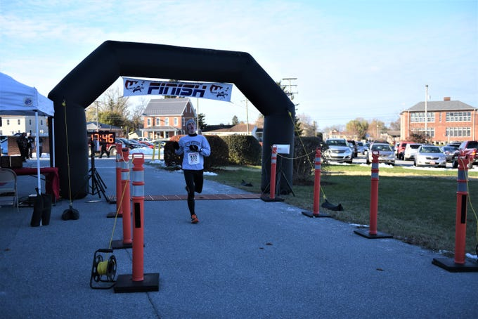 Tim Shaul, of Penn Township, finished in second place at the annual Thanksgiving Turkey Trot 5K at New Oxford Elementary on Nov. 22. He clocked in at just under 18 minutes.