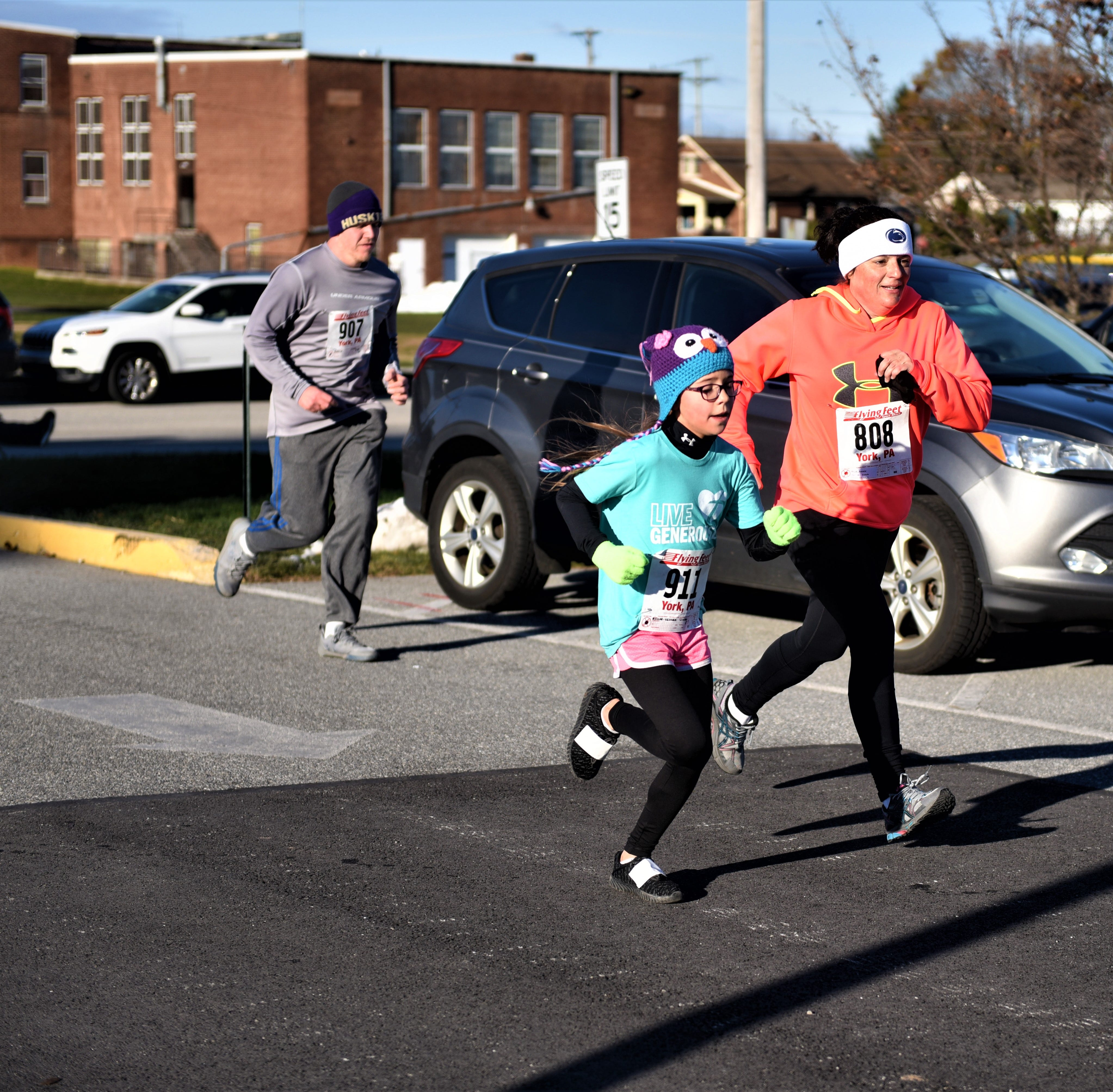 It is never too cold for the Thanksgiving Turkey Trot 5K