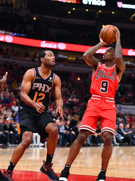Nba Phoenix Suns At Chicago Bulls
