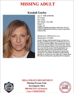 Kendall Gurley, 32.