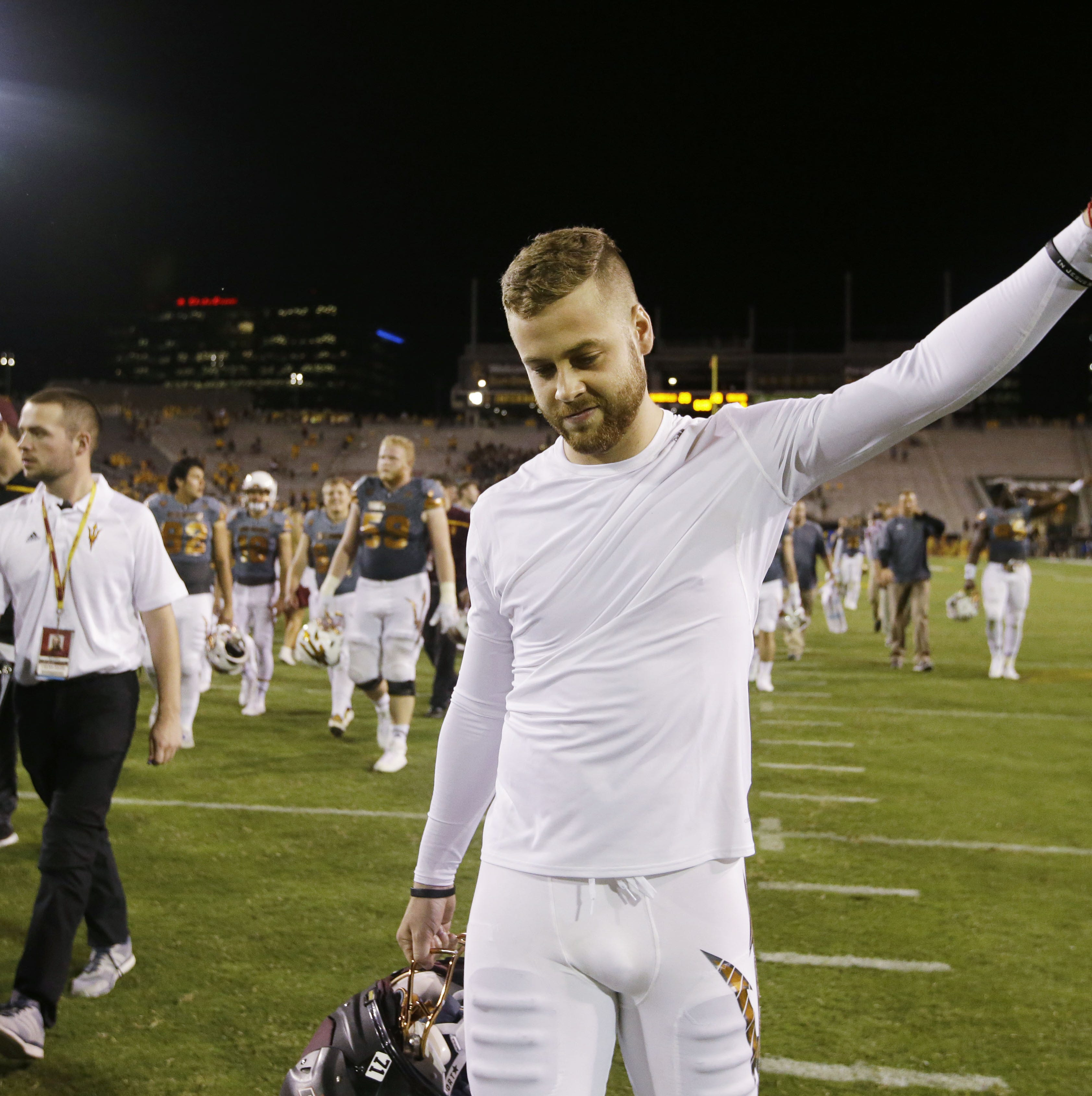 Zane Gonzalez set kicking records with Arizona State, now he'll try with the Arizona Cardinals