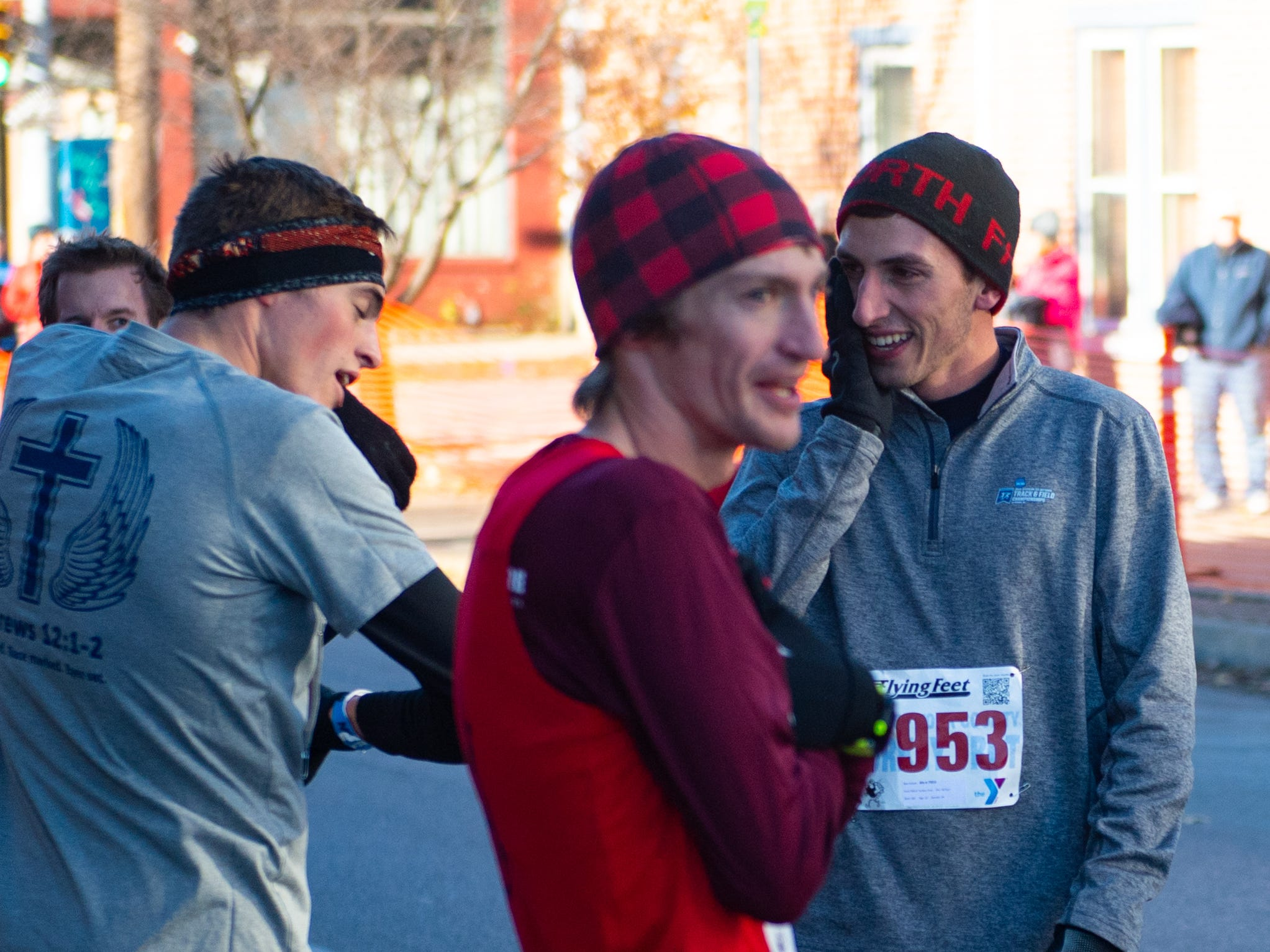 The fastest finishers ran the 5K in just over 15 minutes on Thanksgiving Day, November 22, 2018.