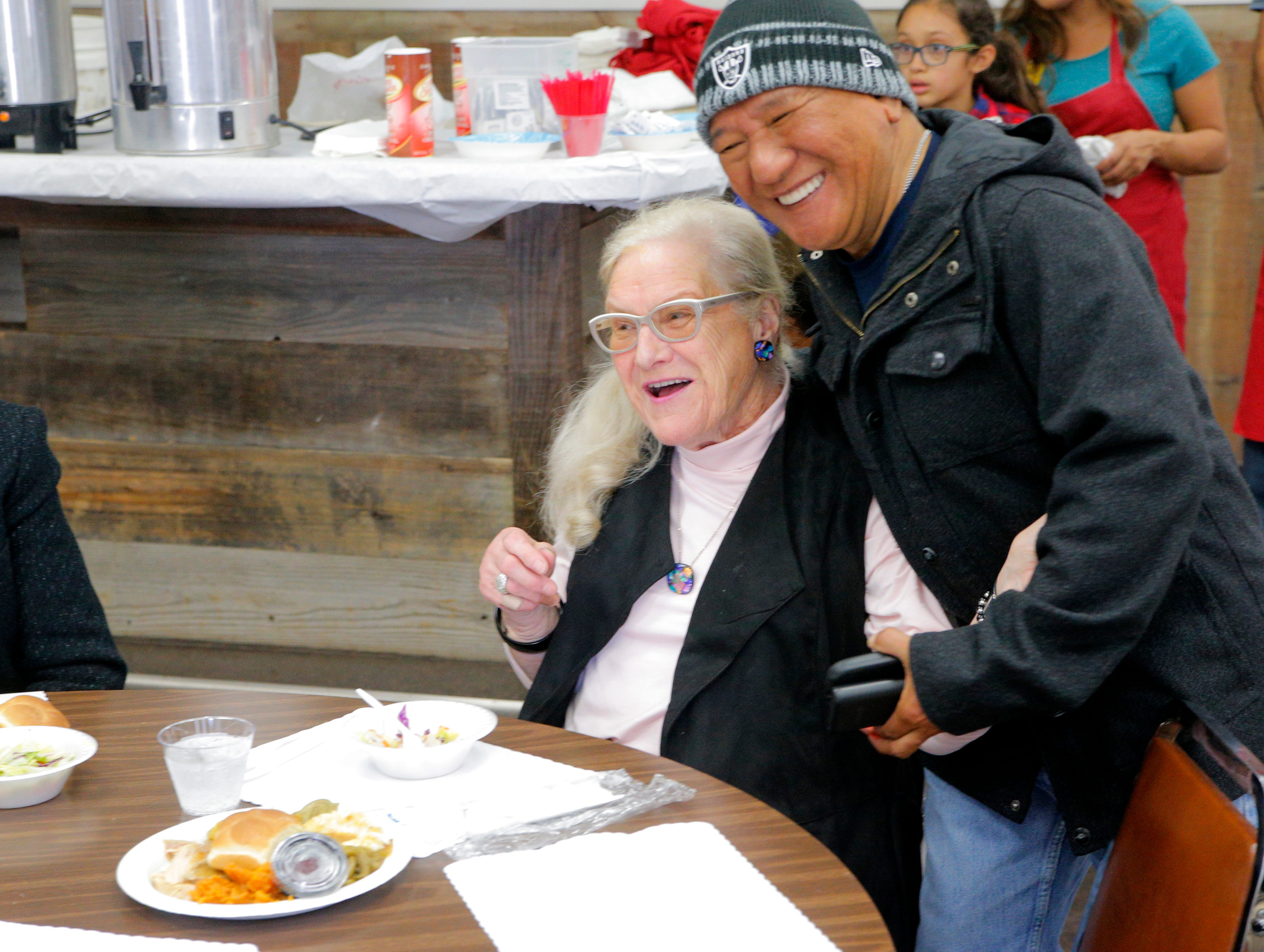 PHOTOS: Love served up with a side of turkey and pie in Salinas