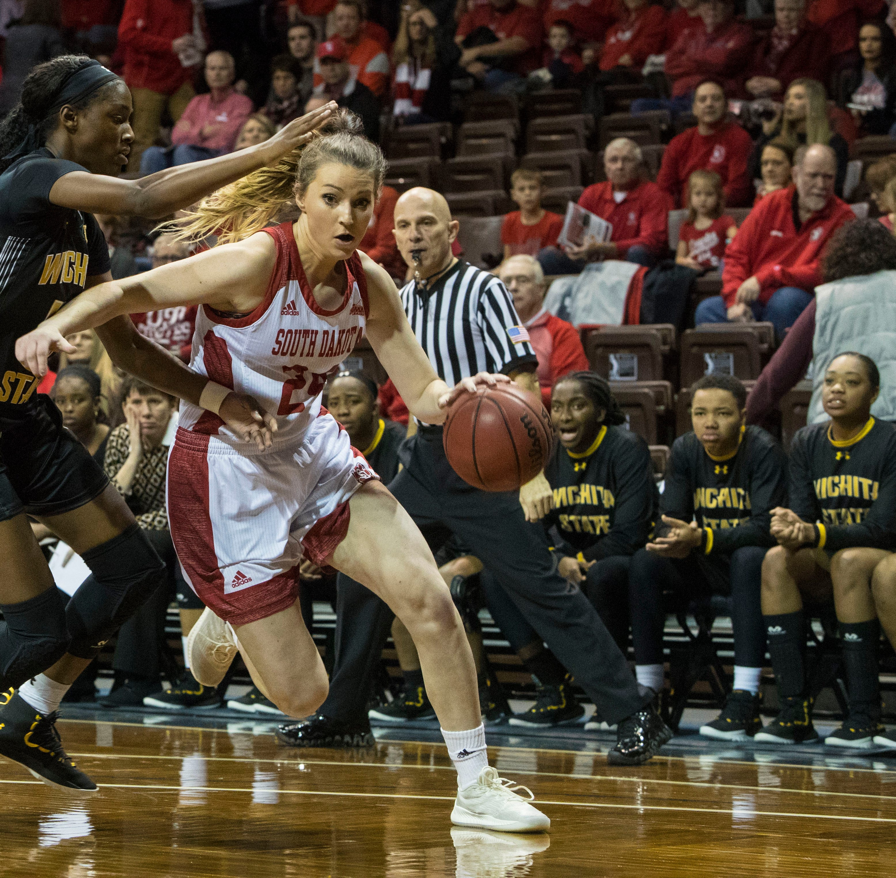 A big week for South Dakota women's basketball