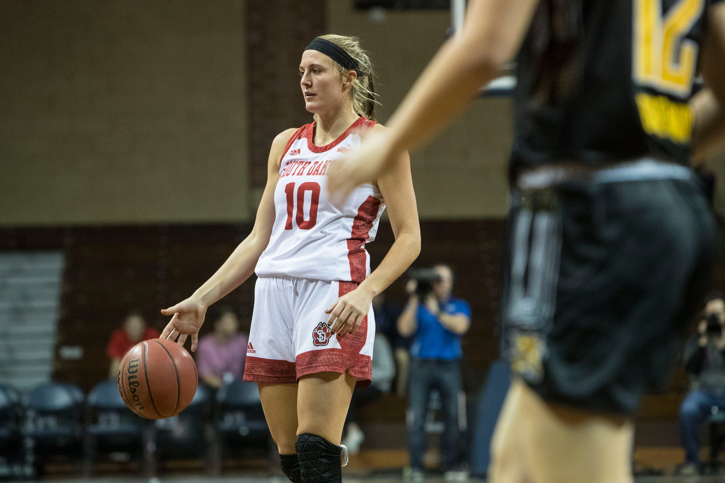 Eighth on USD's all-time scoring list, Allison Arens also ranks in the top 10 for career steals and career assists.