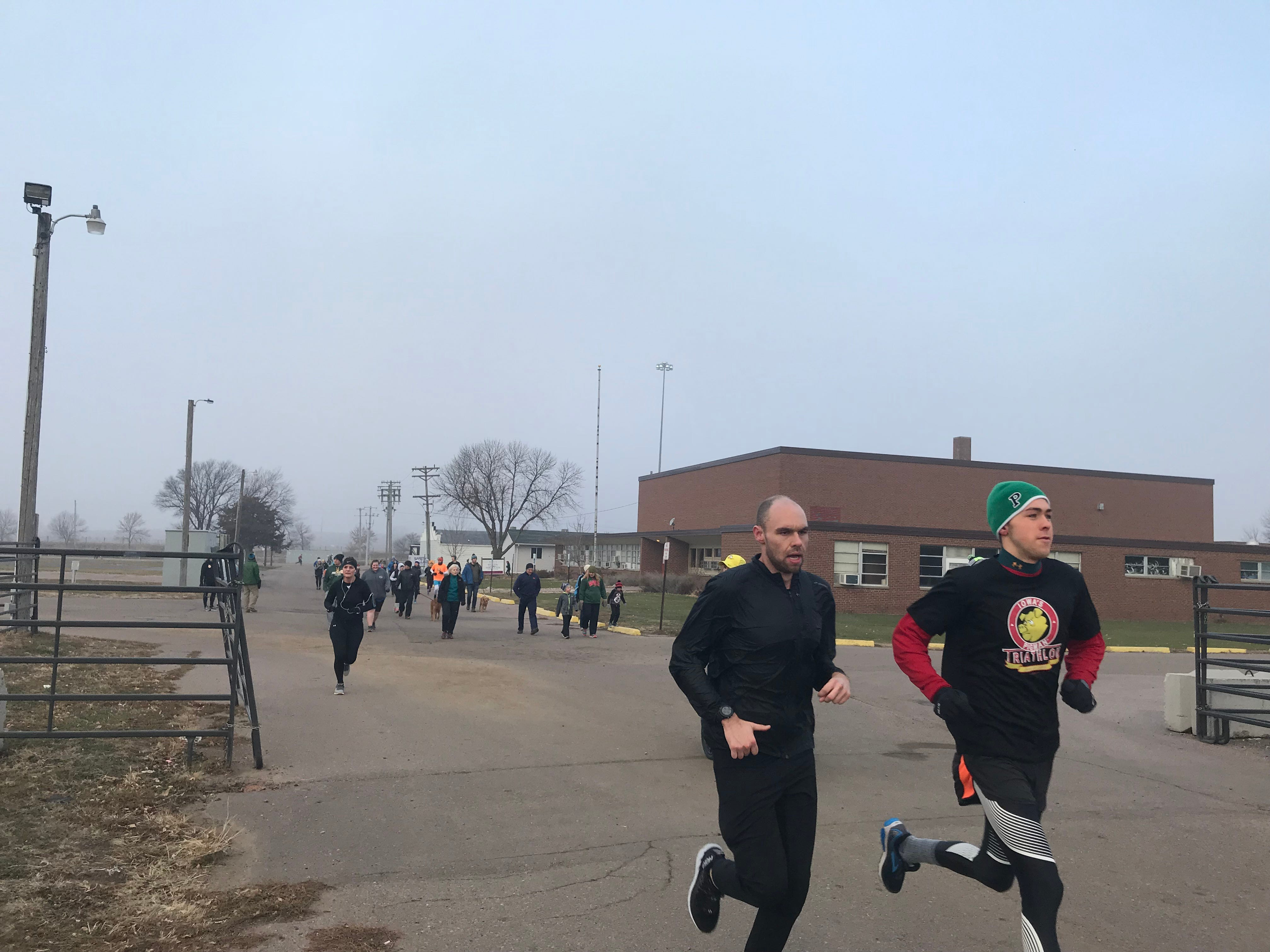 Runners participate in the 2018 Run for Food. The event benefits the Banquet, which serves hot meals to Sioux Falls' hungry.