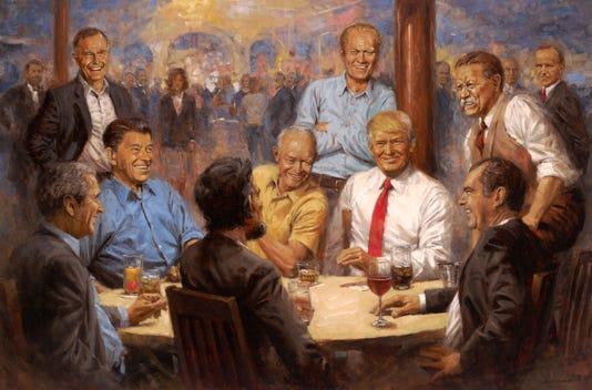 The Republican Club 30x45