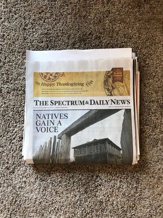 Thanksgiving Day paper