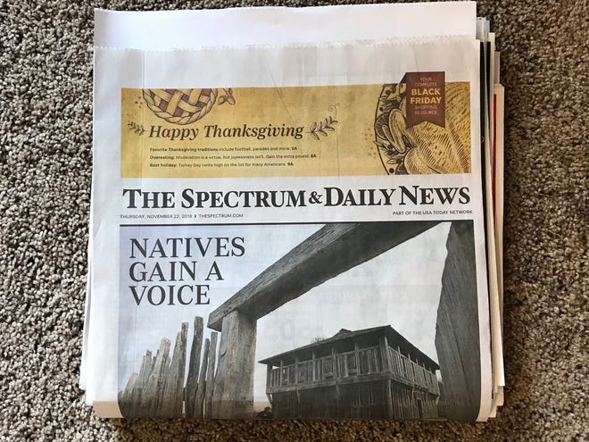 The Thanksgiving Day edition of The Spectrum & Daily News is loaded with hundreds of dollars in savings.