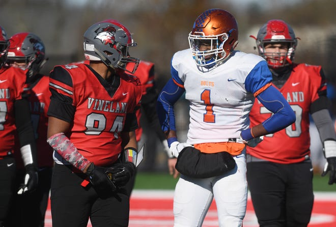 Vineland defeated Millville at Gittone Stadium on Thanksgiving Day 26-6, Thursday, November 22, 2018.