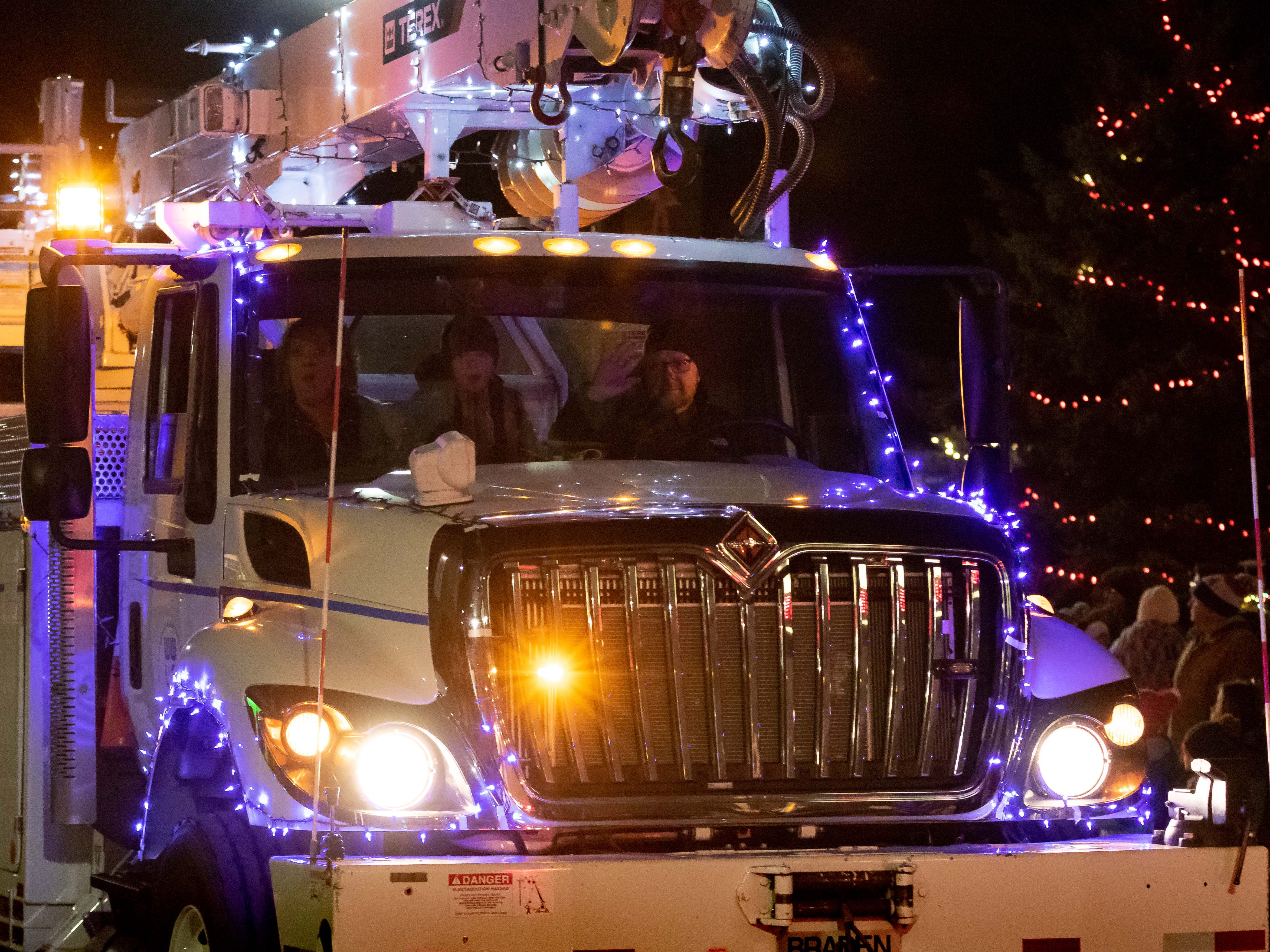 The Rekindle the Spirit holiday parade was held Wednesday, Nov. 21, 2018, in downtown Wisconsin Rapids.