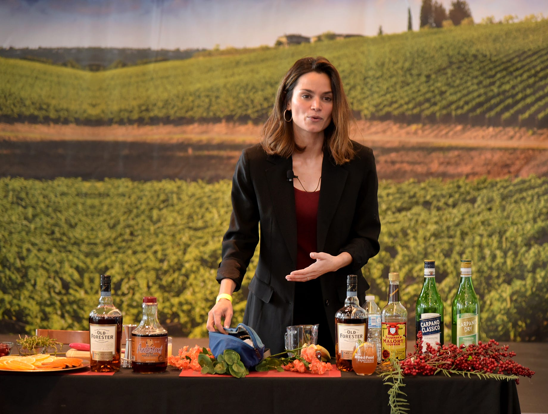 Mixology at the Wine & Food Experience.