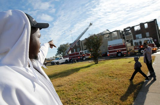 Ap Dallas Fire Apartments A Usa Tx