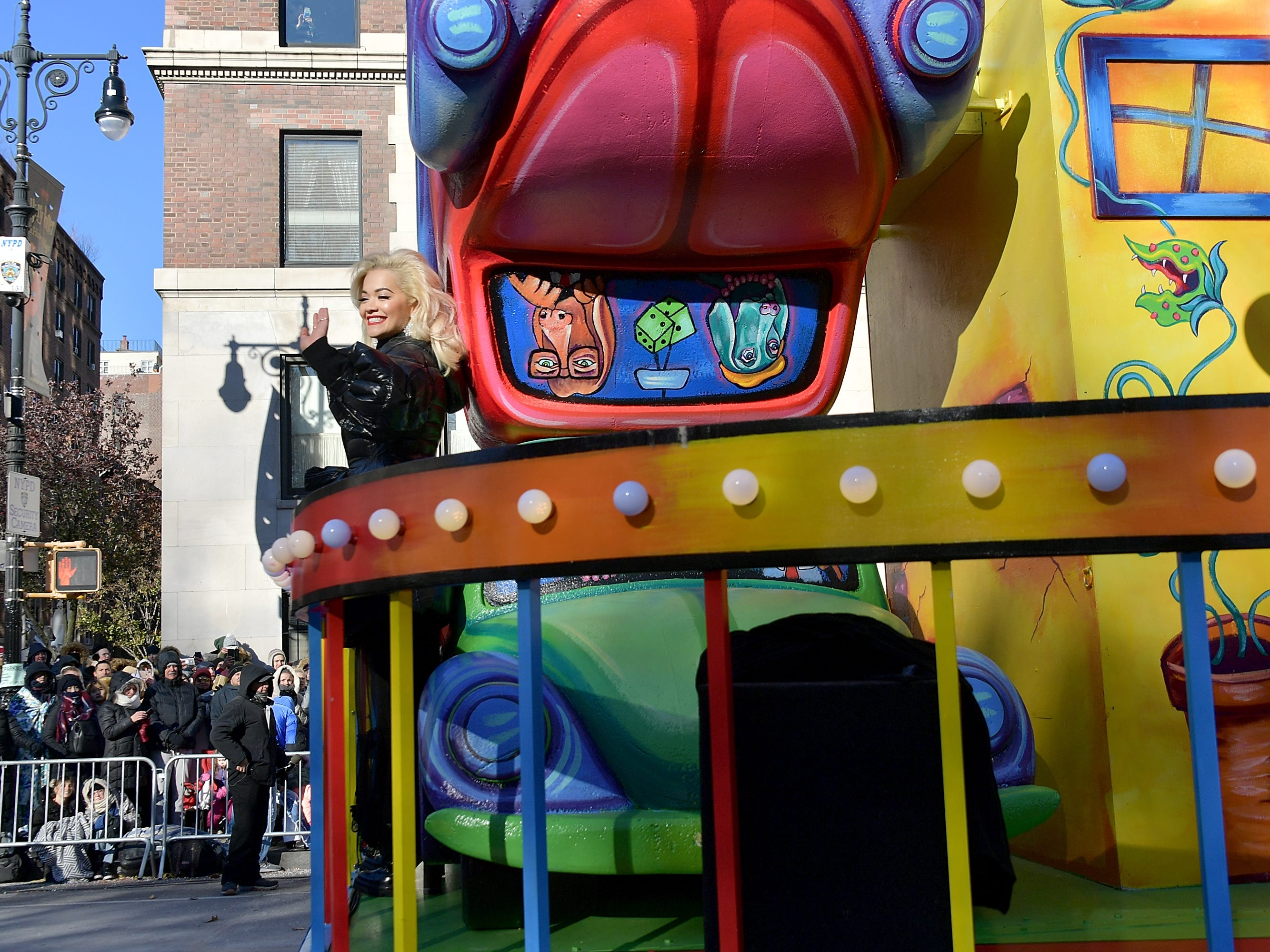 Singer Rita Ora attends the 2018 Macy's Thanksgiving Day Parade on Nov. 22, 2018, in New York.
