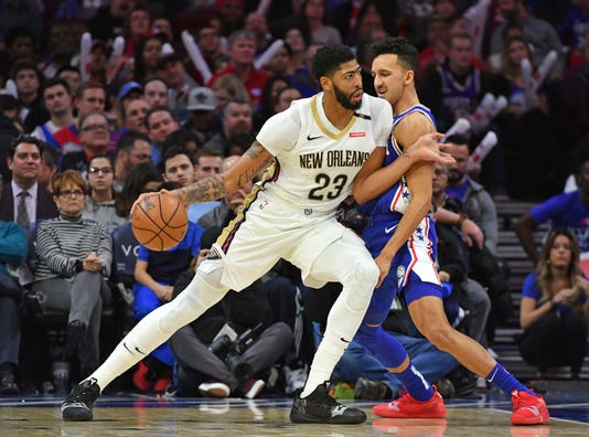 Usp Nba New Orleans Pelicans At Philadelphia 76er S Bkn Phi Nop Usa Pa