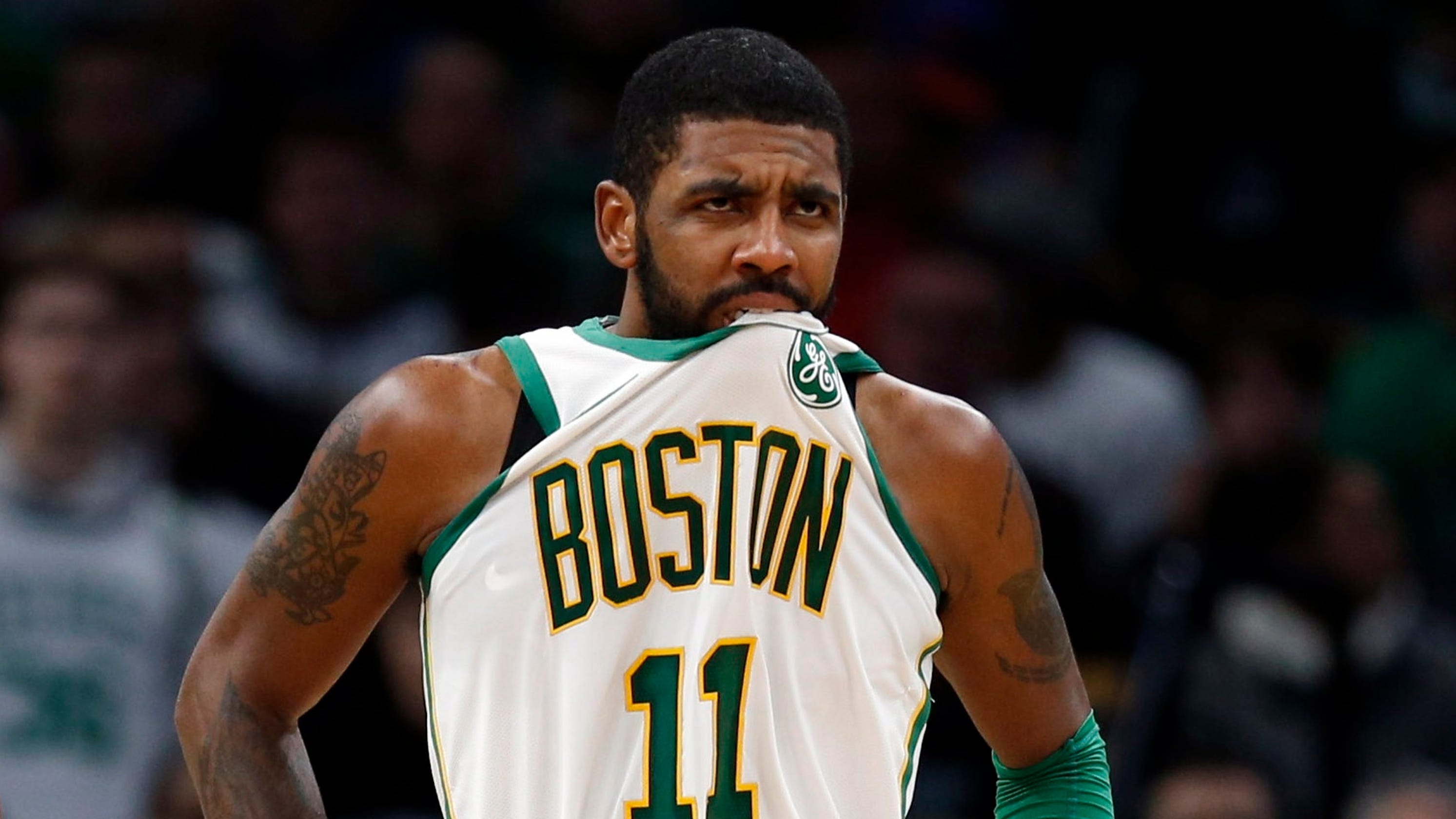 1e8bbcdf0 Celtics guard Kyrie Irving apologizes for saying  (expletive) Thanksgiving