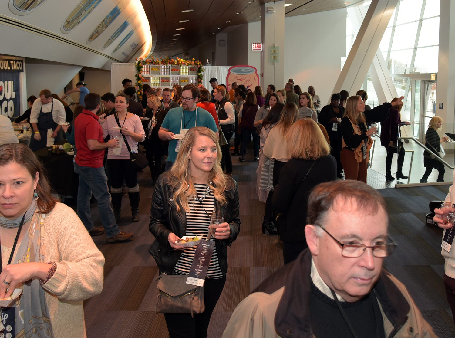 More than 1,000 attended the event at Soldier Field.