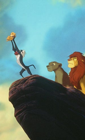 """Disney is working on a live-action re-imagining of the 1994 animated """"The Lion King."""""""
