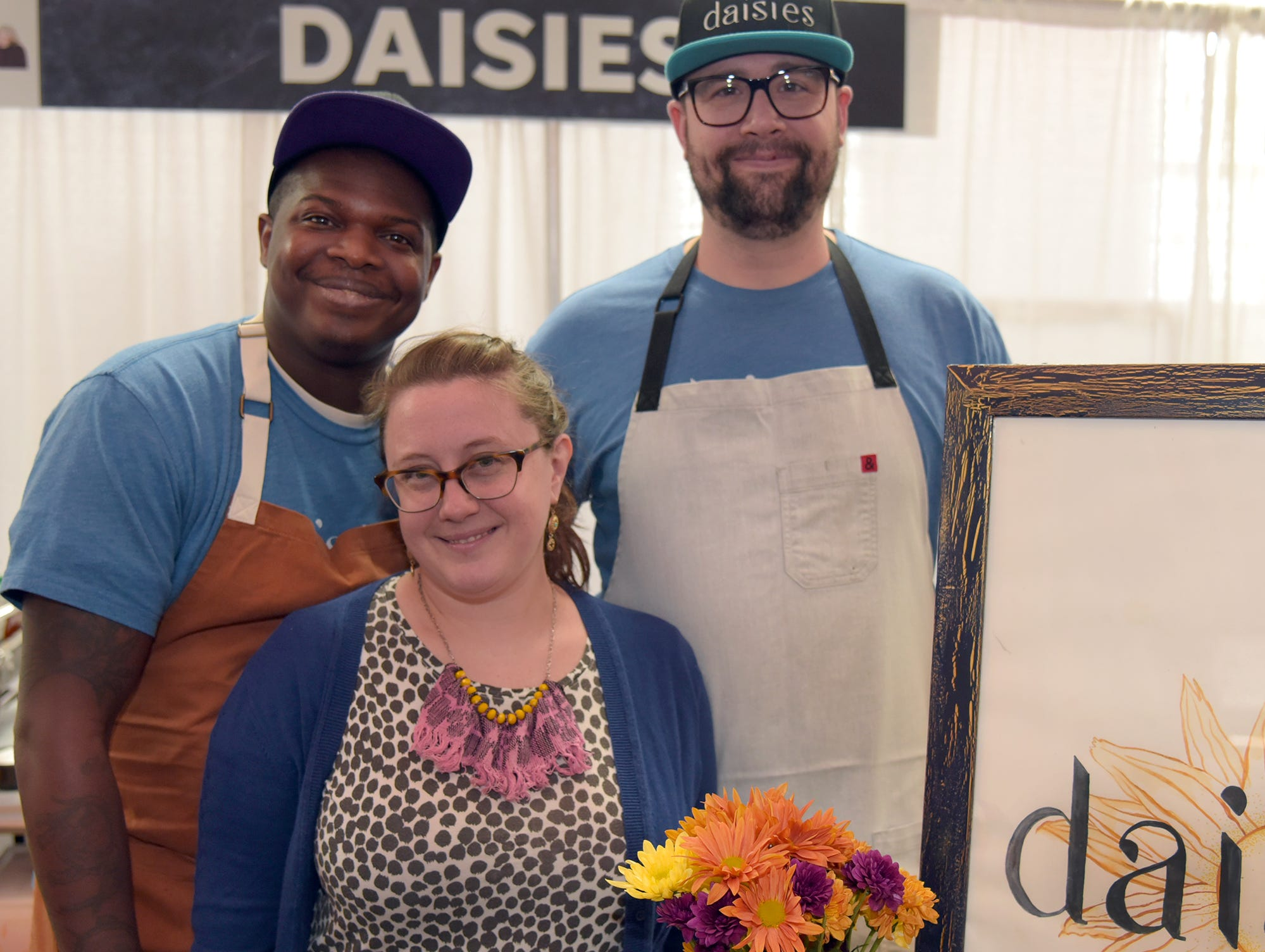 Chef/owner Joe Frillman (right) of Daisies, a small indie eatery in the hot culinary neighborhood of Logan Square, jumped at the opportunity to participate in the Wine & Food Experience Chicago.